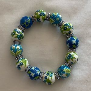 Angela Moore Stretch Bead Bracelet